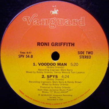 Roni Griffith - (The Best Part Of) Breakin' Up / Voodoo Man / Spys