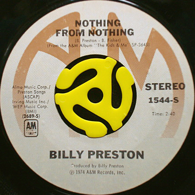 Billy Preston Nothing From Nothing - My Soul Is A Witness