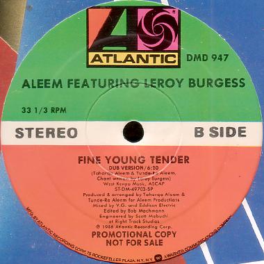 Aleem Featuring Leroy Burgess Get Loose