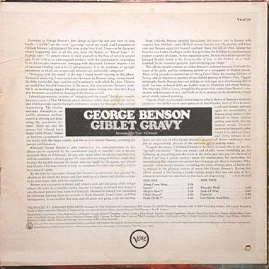 George Benson Giblet Gravy