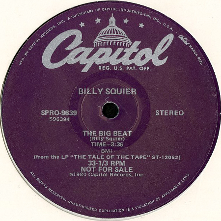 Billy Squier The Big Beat