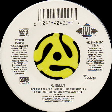 R. KELLY / I BELIEVE I CAN FLY (45's) - Breakwell Records