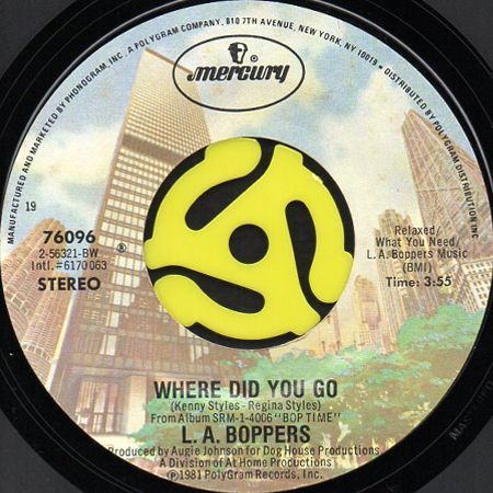 L.A. Boppers - Well Deserved Rest / Where Do The Bop Go?