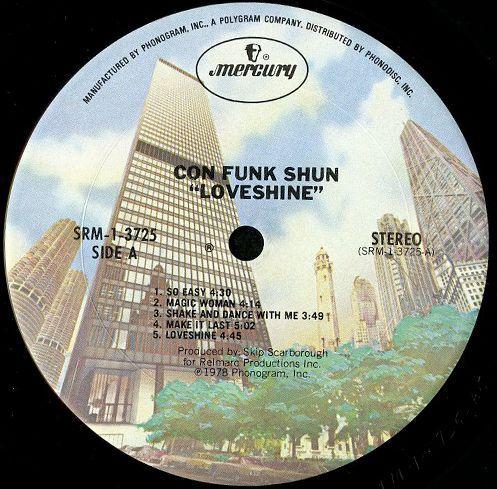 Con Funk Shun - Loveshine + Candy