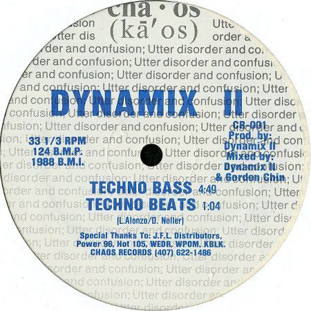 Dynamix II - Techno Bass / Feel The Bass
