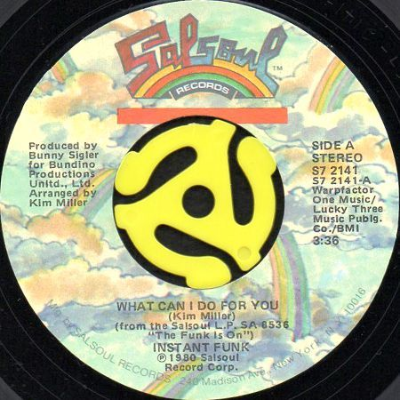 instant funk what can i do for you b w you want my love 45 s