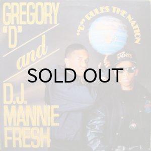 画像1: GREGORY D & DJ MANNIE FRESH / D RULES THE NATION (1)