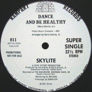 画像1: SKYLITE / DANCE AND BE HEALTHY (1)