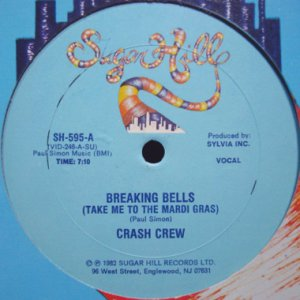 画像1: CRASH CREW / BREAKING BELLS (TAKE ME TO THE MARDI GRASS) (1)