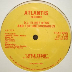 画像1: D.J. ELLIOT NESS AND THE UNTOUCHABLES / LITTLE CEZAR (1)