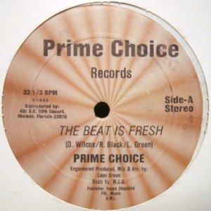 画像1: PRIME CHOICE / THE BEAT IS FRESH (1)
