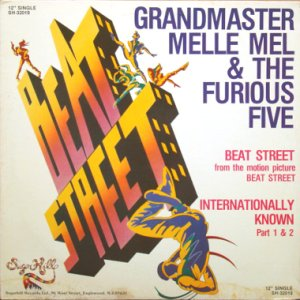 画像1: GRANDMASTER MELLE MEL & THE FURIOUS FIVE / BEAT STREET (1)