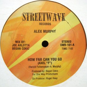 画像1: ALEX MURPHY / HOW FAR CAN YOU GO (AXEL F) (1)
