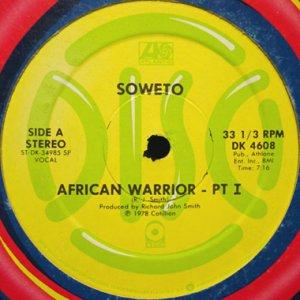 画像1: SOWETO / AFRICAN WARRIOR (1)