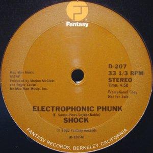 画像1: SHOCK / ELECTROPHONIC PHUNK (1)