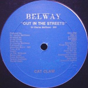 画像1: CAT CLAW / OUT IN THE STREETS (1)