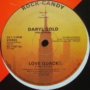 画像1: DARYL GOLD / LOVE QUACK (1)