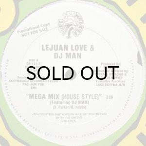 画像1: LE JUAN LOVE & DJ MAN / MEGA MIX (HOUSE STYLE) (1)