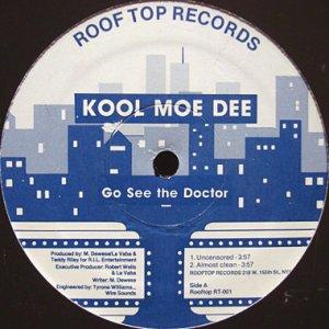 画像1: KOOL MOE DEE / GO SEE THE DOCTOR (1)