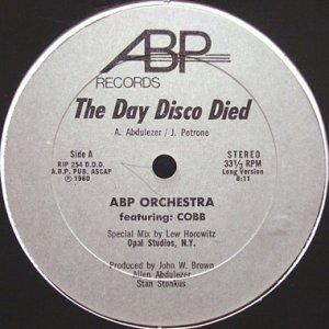 画像1: ABP ORCHESTRA / THE DAY DISCO DIED (1)