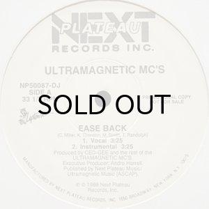 画像1: ULTRAMAGNETIC MC'S / EASE BACK (1)