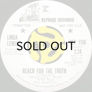 画像1: LINDA LEWIS / REACH FOR THE TRUTH (45's) (1)