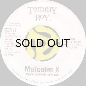 画像1: MALCOLM X / NO SELL OUT (45's) (1)