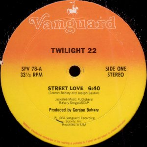 画像1: TWILIGHT 22 / STREET LOVE (1)
