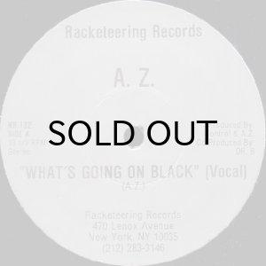 画像1: A.Z. / WHAT'S GOING ON BLACK (1)