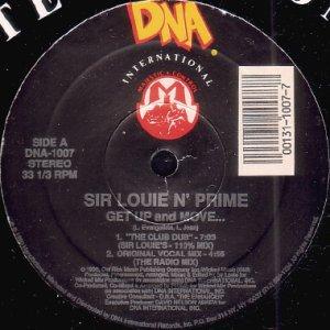 画像1: SIR LOUIE N' PRIME / GET UP AND MOVE (1)
