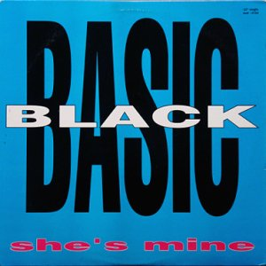 画像1: BASIC BLACK / SHE'S MINE (1)