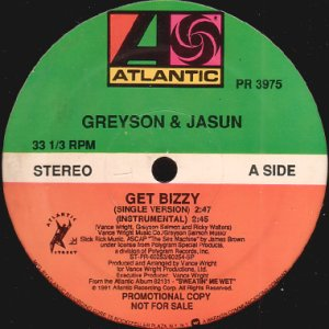 画像1: GREYSON & JASUN / GET BIZZY (1)
