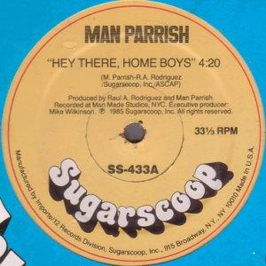 画像1: MAN PARRISH / HEY THERE, HOME BOYS (1)