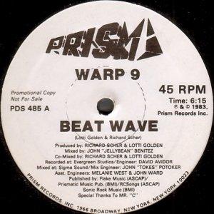 画像1: WARP 9 / BEAT WAVE (1)