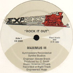 画像1: MAXIMUS III / ROCK IT OUT (1)