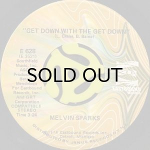画像1: MELVIN SPARKS / GET DOWN WITH THE GET DOWN (45's) (1)