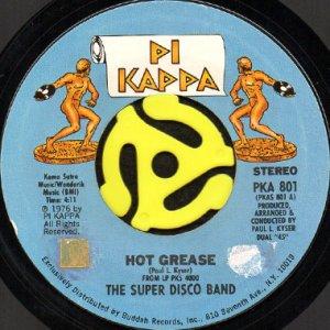 画像1: THE SUPER DISCO BAND / HOT GREASE b/w A SONG FOR YOU (45's) (1)