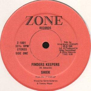 画像1: SHIEK / FINDERS KEEPERS (1)