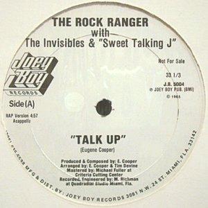 画像1: THE ROCK RANGER with THE INVISIBLES & SWEET TALKING J / TALK UP (1)