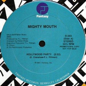 画像1: MIGHTY MOUTH / HOLLYWOOD PARTY (1)