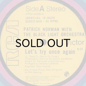 画像1: PATRICK NORMAN with THE BLACK LIGHT ORCHESTRA / LET'S TRY ONCE AGAIN (1)