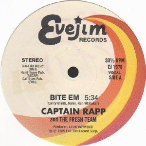 画像1: CAPTAIN RAPP AND THE FRESH TEAM / BITE EM (1)