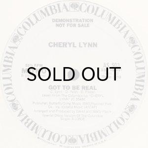 画像1: CHERYL LYNN / GOT TO BE REAL (PROMO) (1)