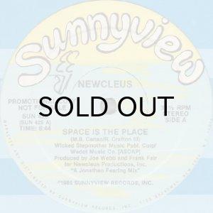 画像1: NEWCLEUS / SPACE IS THE PLACE b/w CYBORG DANCE (1)