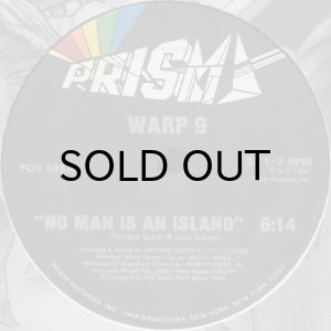 画像1: WARP 9 / NO MAN IS AN ISLAND (1)