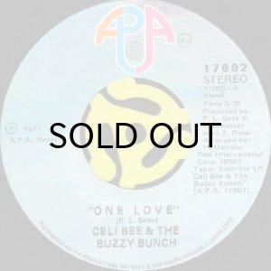画像1: CELI BEE & THE BUZZY BUNCH / ONE LOVE b/w IT'S SAD (45's) (1)