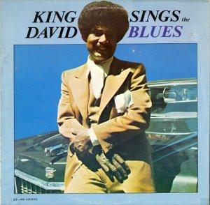 画像1: KING DAVID / SINGS THE BLUES (1)