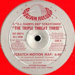 画像1: THE TRIPLE THREAT THREE / SCRATCH MOTION (1)