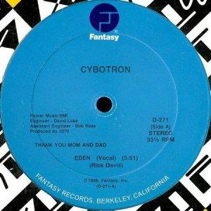 画像1: CYBOTRON / EDEN (1)