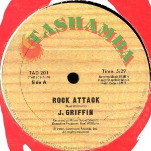 画像1: J. GRIFFIN / ROCK ATTACK (1)